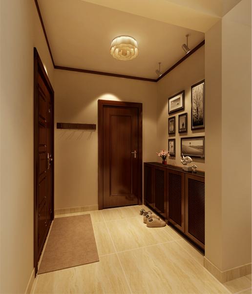 石家庄业之峰装饰-廊桥四季100平米新中式风格装修效果图图片