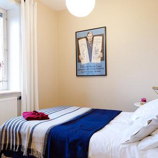北欧风格女生卧室