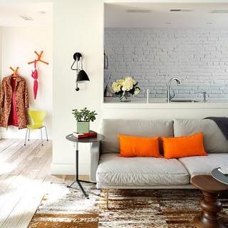 轻慢生活格调 简约唯美54平米一室一厅