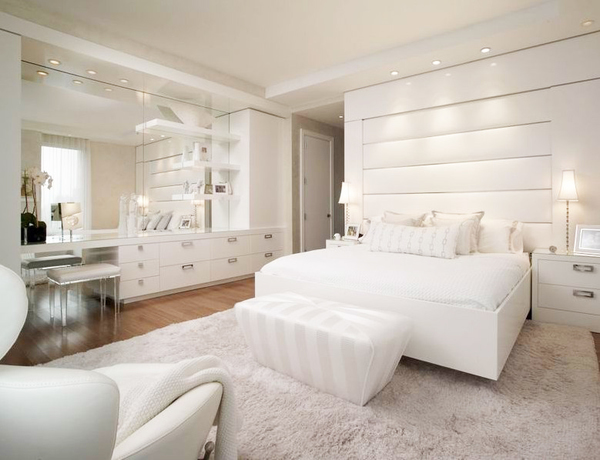 纽约现代时尚奢华的顶层公寓装修效果图