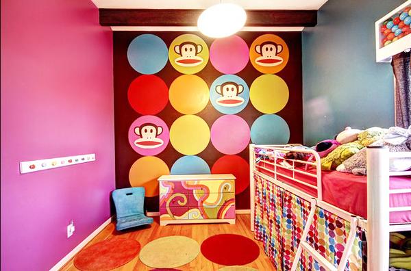 色彩混搭温馨惬意住宅装修效果图