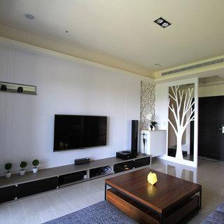 剪影自然 99平米形塑清新北欧三居室