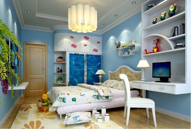 现代风格儿童房装修设计效果图 带你回到梦中的童年~ 泥巴公社装饰