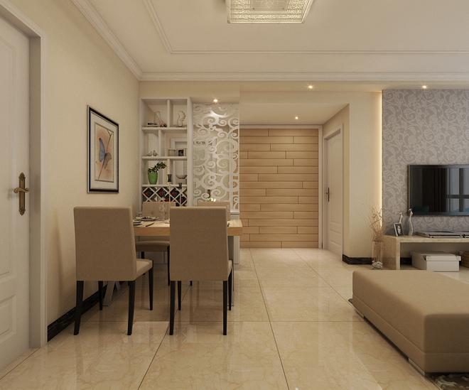 110平米簡單溫馨小家  房子的設計采用現代簡約設計,房子的主色調選用