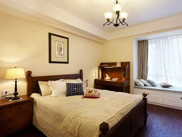 现代美式康城国际约克郡一居室装修效果图