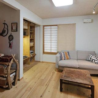 20平小户型完美演绎日式原木风情
