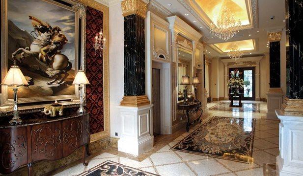 500平米别墅设计图|欧式奢华豪宅装修案例|上海别墅装修公司哪家好?图片