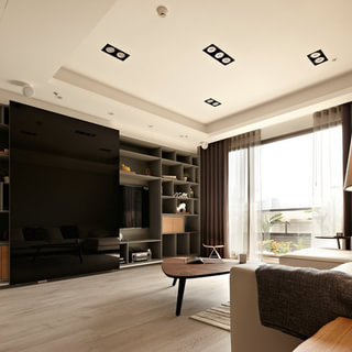 台北市152平米惬意4房2厅住宅 / 耀昀创意设计