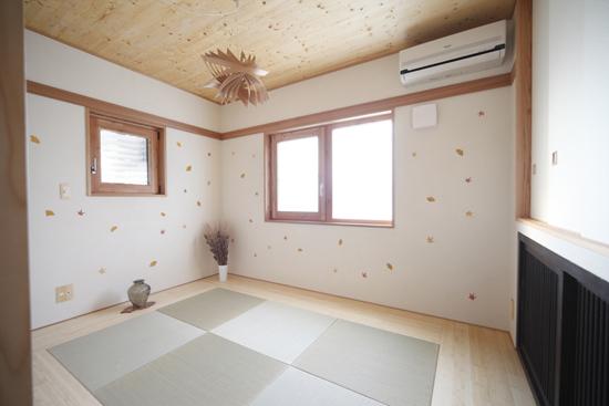 木质和风高品位 日式90平米四口之家装修效果图