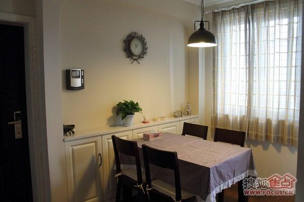 美式小清新二居室装修效果图