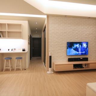 80-100平米简欧风格白色客厅装修效果图大全2015图片