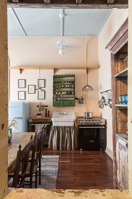 新奥尔良法式乡村公寓装修效果图