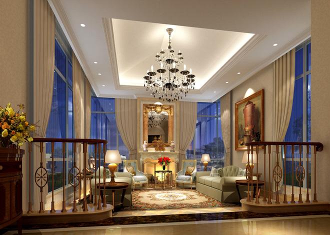 欧式三房一厅二层小别墅外形设计