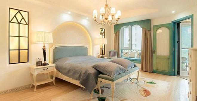 自然舒适地中海住宅 160平惬意温馨阳光居