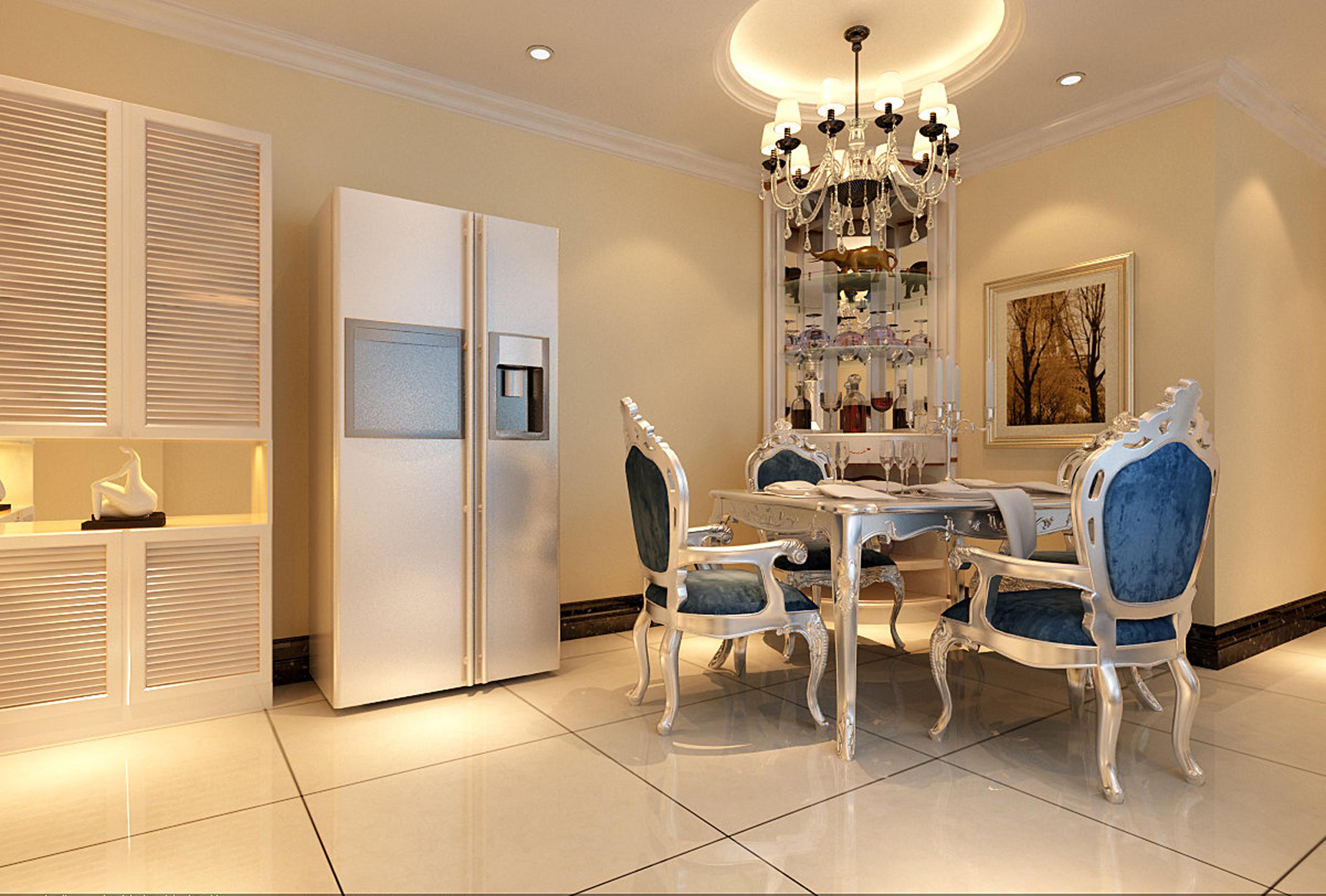项目名称:保利花园 所在城市:北京海淀 装修风格:新古典欧式 总造价:125600元 户型:3室2厅1卫1厨 面积:130 实创装饰24小时热线:010-56203603、QQ:1659837077 业主背景和需求:本案是一套三居室,客户是自己开公司,基于职业的关系,对于家居空间的整体感觉和客户的要求:尽量简洁、实用而且要暖色调,但必须体现家庭气质,色彩上要避免跳跃、平稳温和的感觉为主线。
