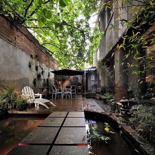 大木和石空间设计 古朴空间的盛装演绎