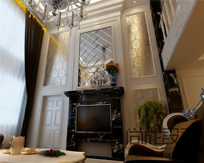 欧式典雅的文化情趣,带你感受家的温暖!效果图呈现