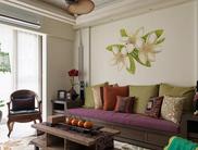 10平东南亚清新淡雅风格设计案例