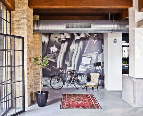 复古风再起 不拘一格200平方米优现代雅公寓装修效果图