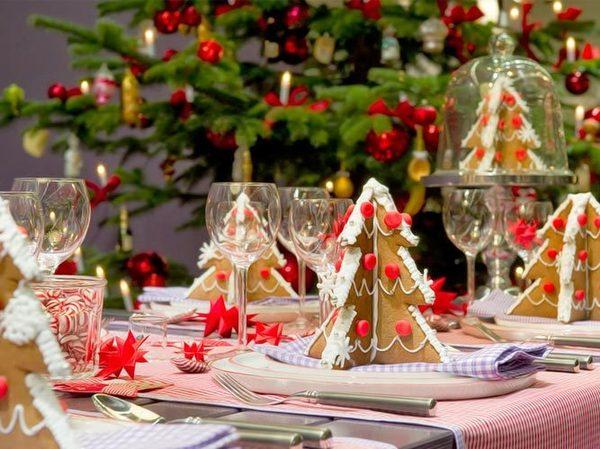 最美圣诞家装——混搭浪漫的餐厅装修效果图