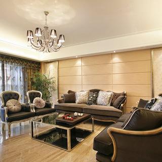 三居欧式古典风格客厅装修效果图大全2015图片-搜狐