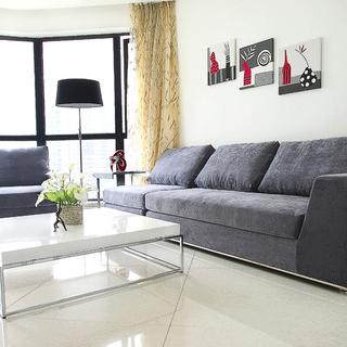 水印城――105平现代简约三室二厅