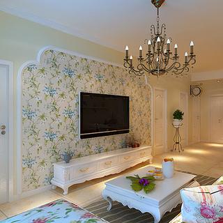 丰泽家园D1户型简约温馨,一居室