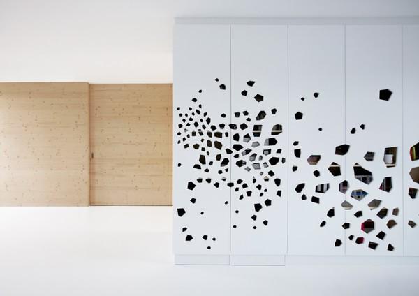 简约黑白木三色打造纯粹减法家装装修效果图