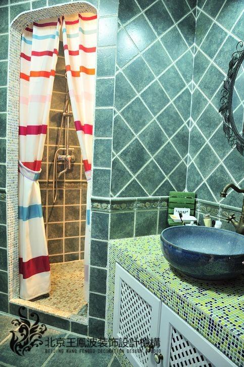 红螺家园  地中海风情二居室装修效果图