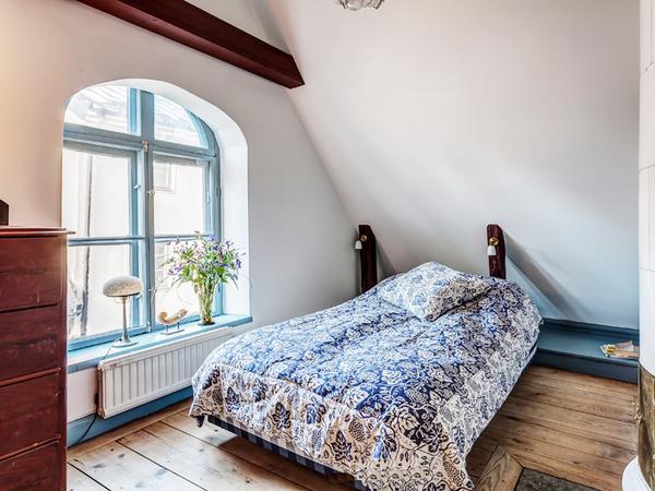 复古时尚美式两居室 90平米老房焕发新活力装修效果图