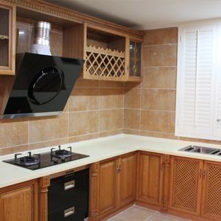 80-100平米欧式古典风格厨房装修效果图大全2015图片
