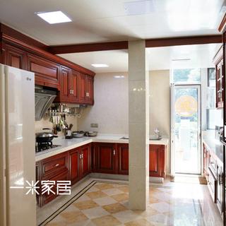 欧式古典风格白色厨房装修效果图大全2015图片-搜狐