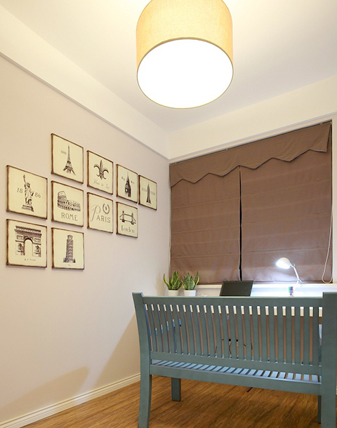 美式风情两居室装修效果图