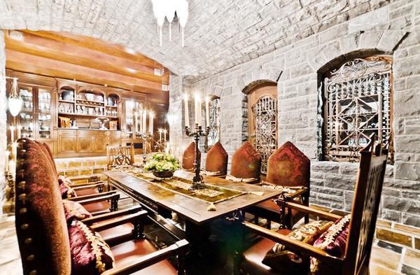席琳迪翁豪宅 法式奢华似童话中城堡装修效果图