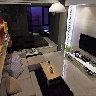 型男私房 58平米混搭风单身公寓