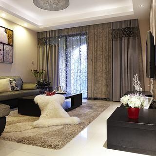 戈雅公寓――现代简约都市风两居