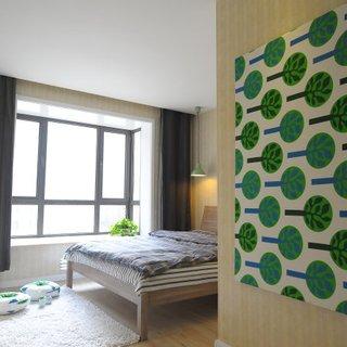 素锦-回归设计原本的质朴减法设计小户型三居室