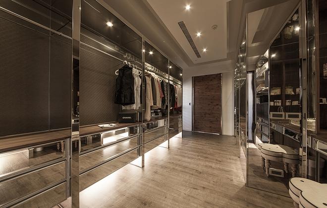 时尚潮流风 不同材质搭配出大气宅