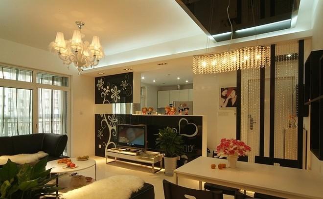 90平两居室现代简约与田园混搭风格