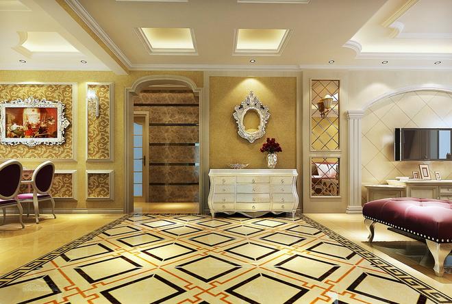 欧典·土豪金  此风格继承了巴洛克风格中豪华