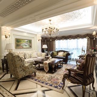 黄龙康城-温式178M²新古典混搭四口之家
