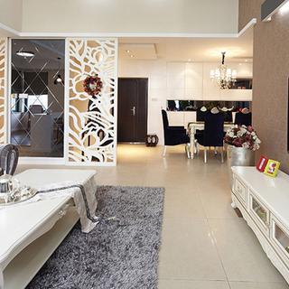 布鲁斯小镇140平简欧温馨时尚公寓 精美搭配设计