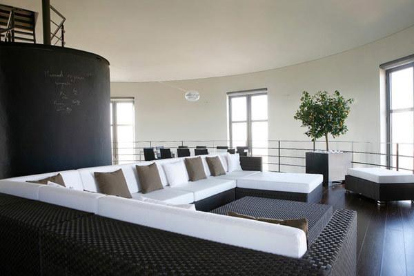 现代风格的水塔改造公寓-搜狐家居品格灵感频道