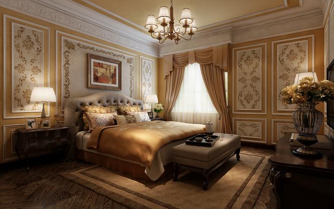 区某私人500平米独栋别墅欧式新古典装修设计风格