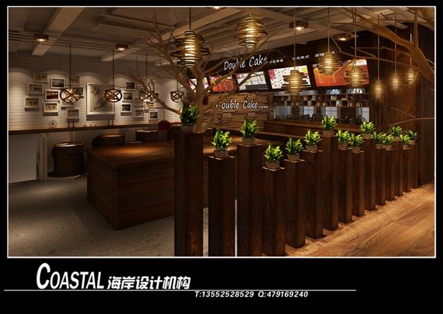 哈尔滨打包幸福蛋糕店(520㎡)-漫咖啡/咖啡之翼设计