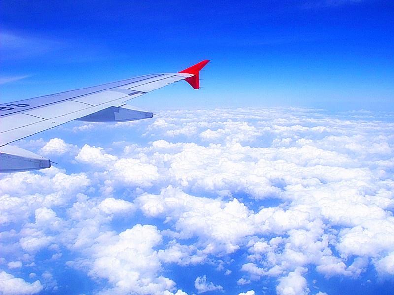 (一)飞机上看云