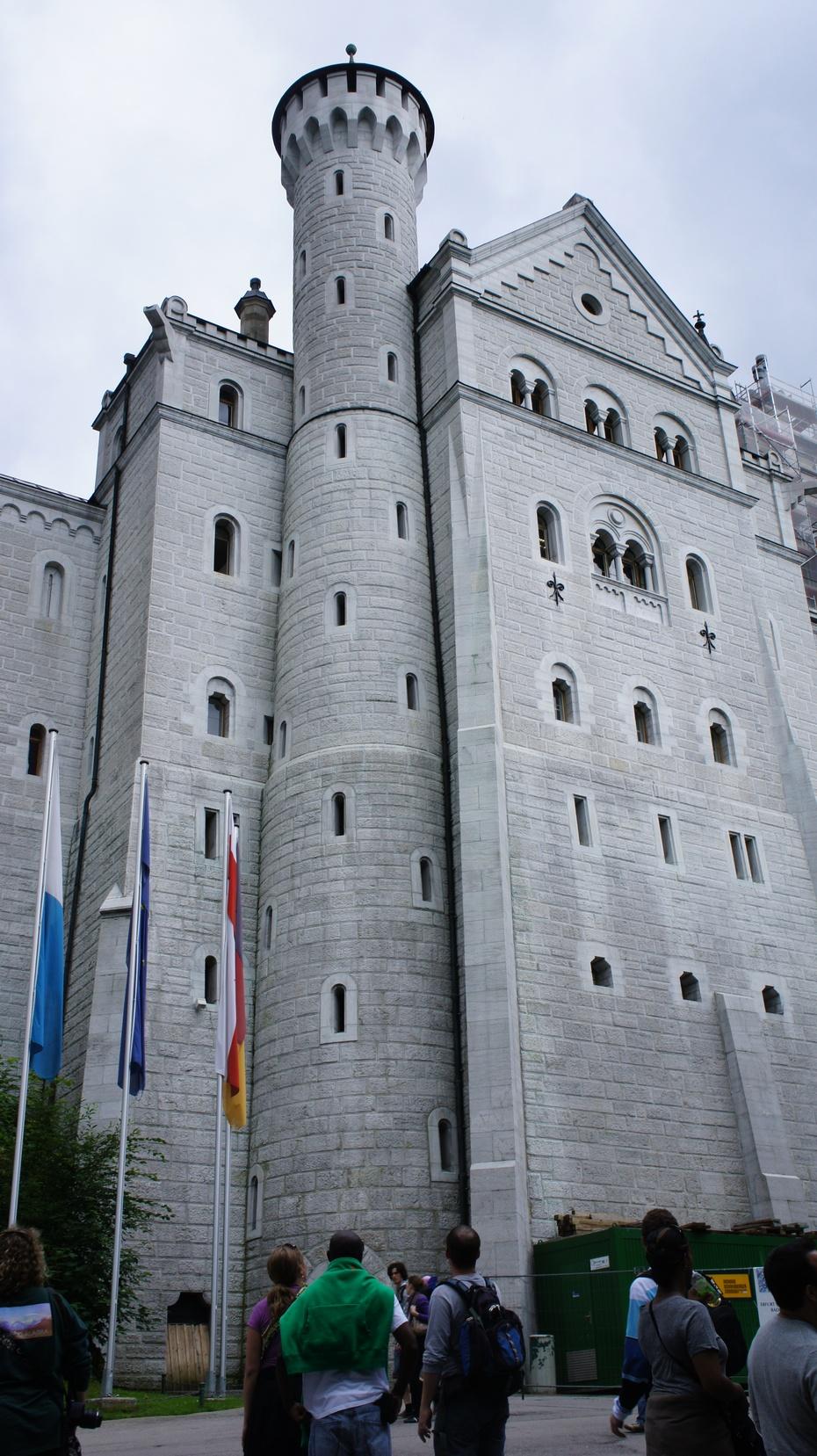 欧洲行14:德国新天鹅城堡 - 余昌国 - 我的博客