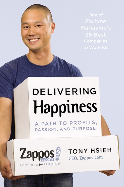 读delivering happiness