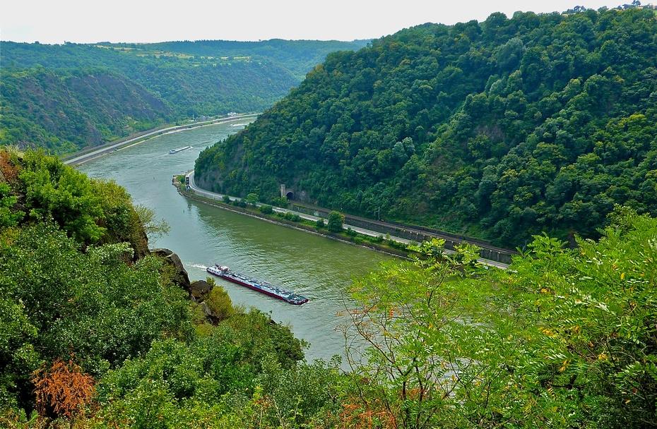 欧洲行16:德国莱茵河浪漫河谷 - 余昌国 - 我的博客