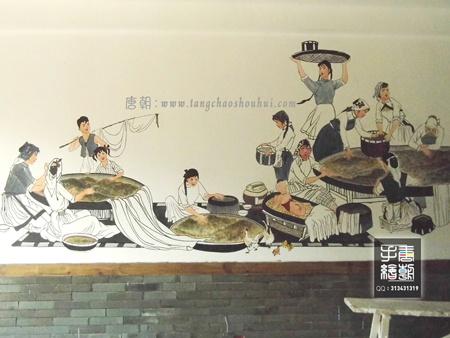 湖州手绘墙--墙体